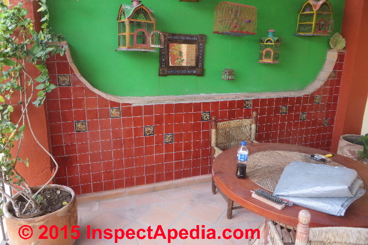 install ceramic tile on a concrete wall