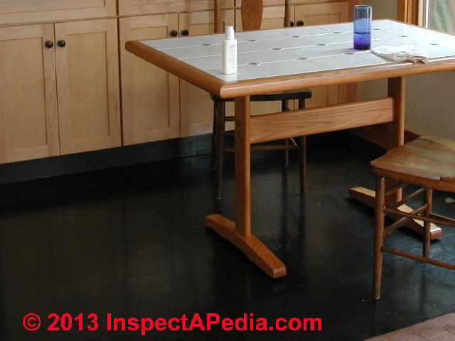 asbestos floor tile mastic sealants