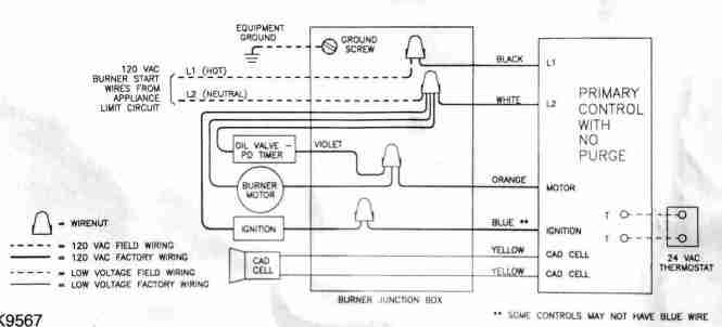 furnace transformer wiring diagram beckett oil furnace wiring ... on
