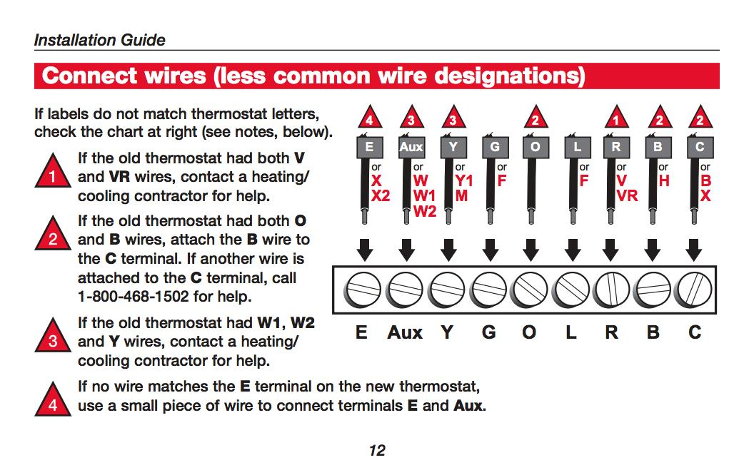Heat Pump Thermostat. Amazing Honeywell Thermostat Wiring Diagrams ...