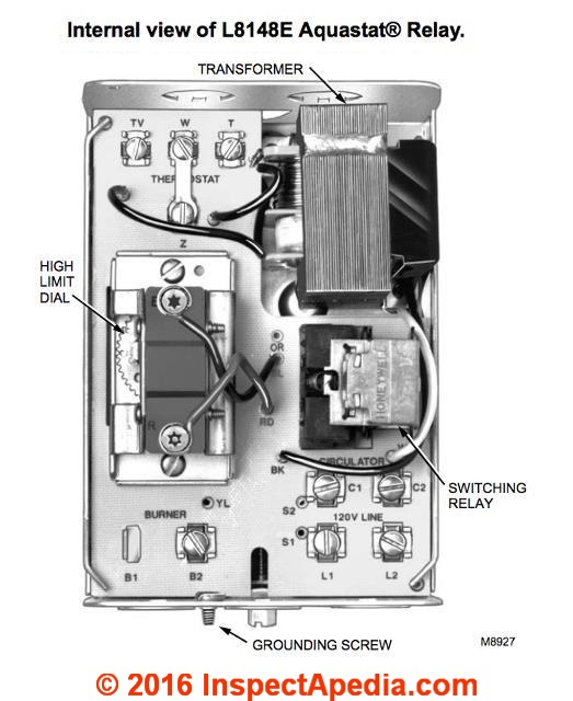 honeywell aquastat wiring diagram   33 wiring diagram