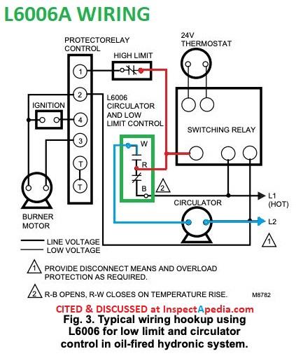 wiring diagram for aquastat relay  1999 bayliner wiring