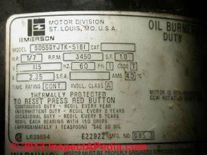 Electric Motor Lubrication Schedule, How often to