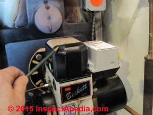 How to Diagnose Oil Burner Noise, Smoke, Odors  Defects & Operating Problems Found on Hot Water