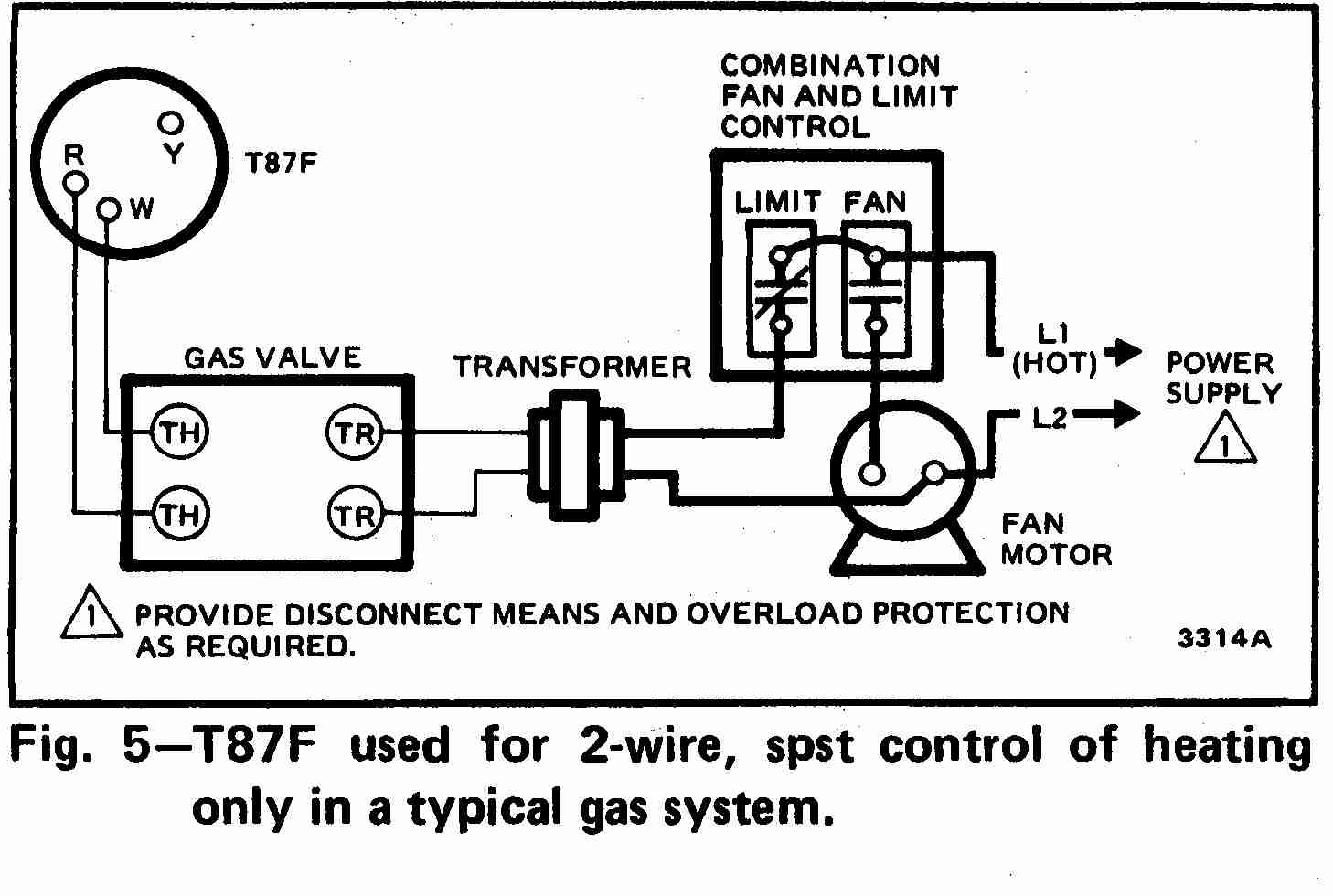 Digital Thermostat Wiring Diagram