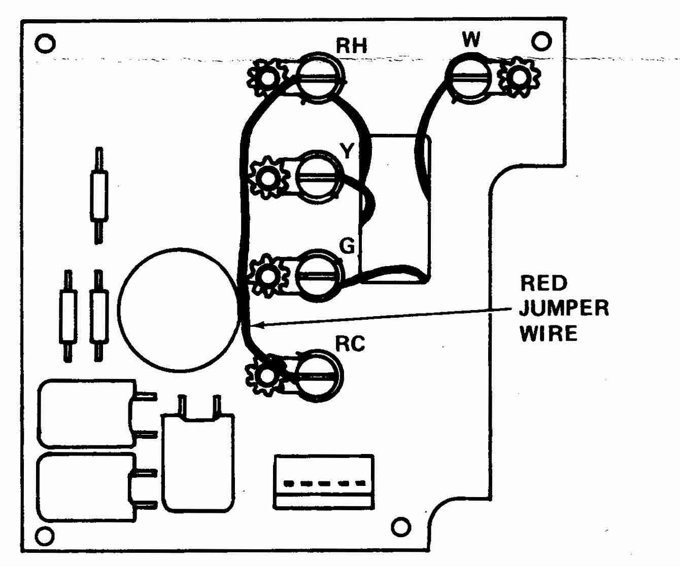 4 Wire Room Thermostat Wiring Diagram