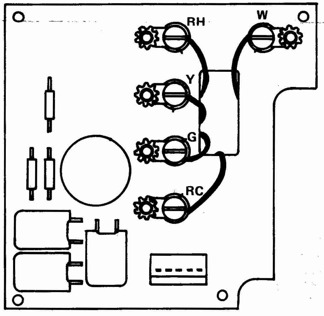 4 Wire Thermostat Wiring