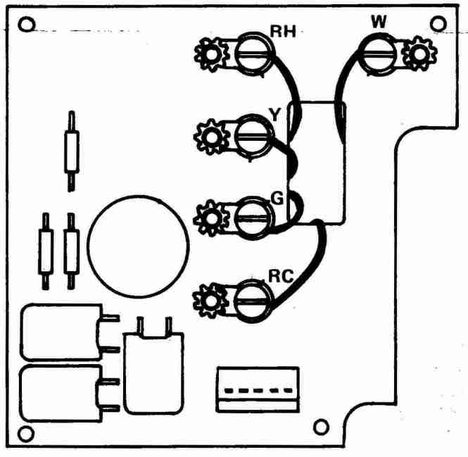 honeywell 2 wire thermostat wiring diagram wiring diagram thermostat wiring diagram or directions electrical diy