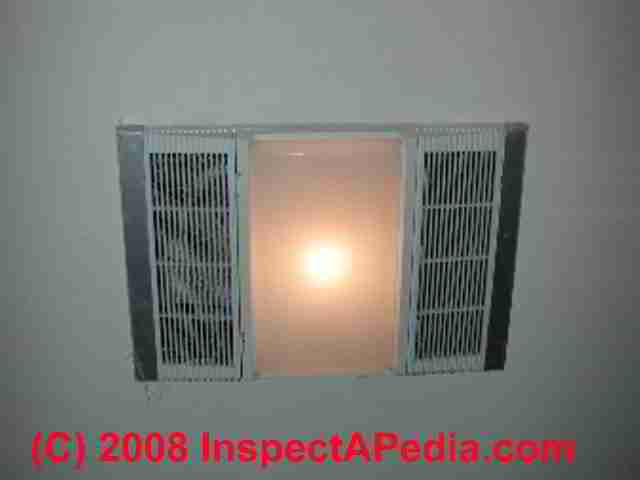 bathroom vent fan codes installation