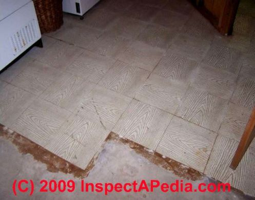 How to identify asbestos floor tiles or asbestos containing sheet     Everlast Vinyl Asbestos Floor Tile  C  D Friedman D Grudzinski