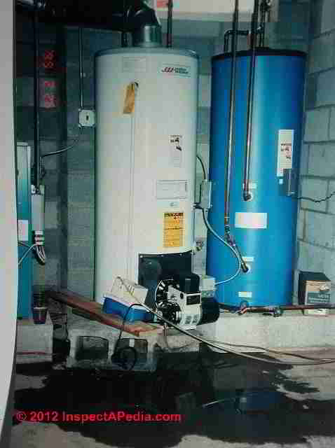 Tankless Coil Leaks Diagnose Repair Leaks At Hot Water Coils
