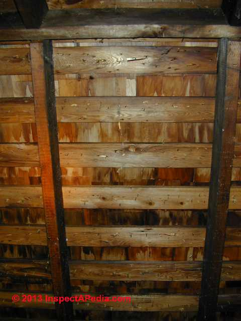 Wood Roof Sheathing Amp Underlayment Requirements