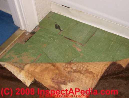How to identify asbestos floor tiles or asbestos containing sheet     How to Identify Asbestos Containing Flooring 5 Easy Steps to Decide if a  Floor Probably Contains Asbestos