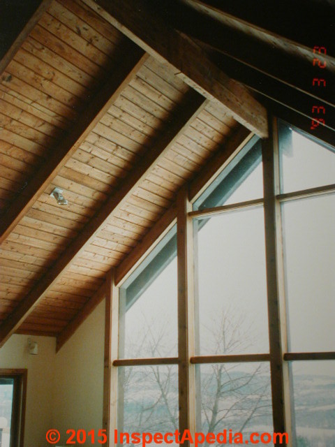 How To Build A Vaulted Ceiling Ridge Beam Www
