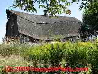 Collapsing barn (C) Daniel Friedman