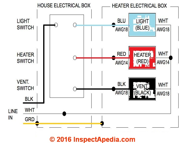 How to wire a bathroom ceiling fan light energywarden bathroom lights and wiring diagram for vent diagrams schematics swarovskicordoba Gallery