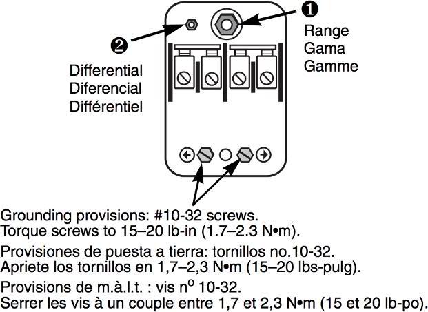 pump control box wiring diagram adjustment settings