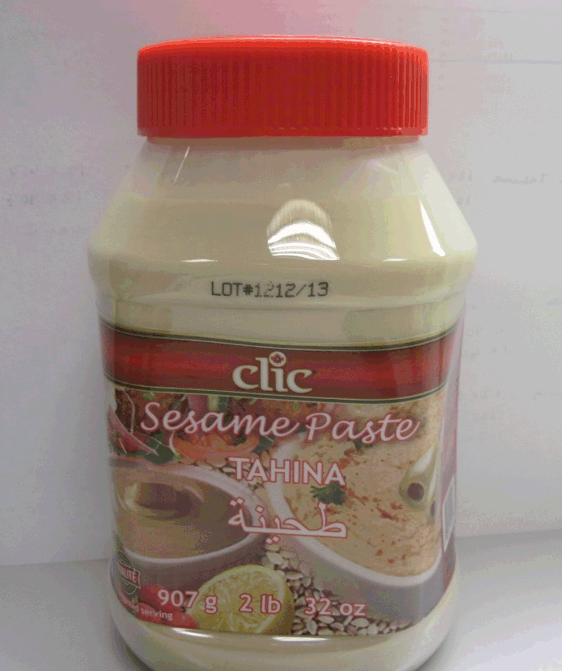 Clic - Sesame Paste Tahina - 907 g