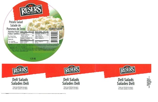Reser's Fine Foods - Potato Salad - 1.25 kilogram
