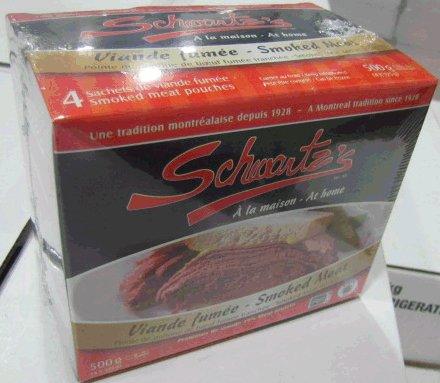 Schwartz's brand Smoked Meat
