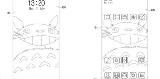 Samsung-in-display-fingerprint-front-camera-patent