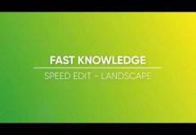Landscape Speed Edit