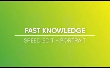 Luminar 2018: Portrait Speed Edit