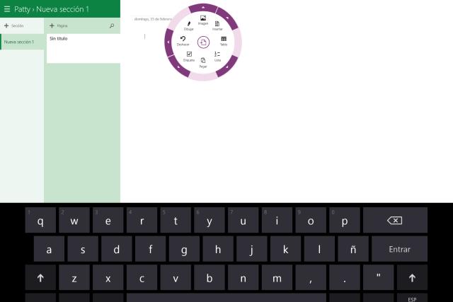 OneNote en Windows