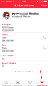 datos médicos_App health