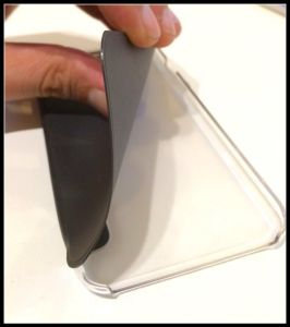 Funda para iPhone 6: delgada y tapa flexible