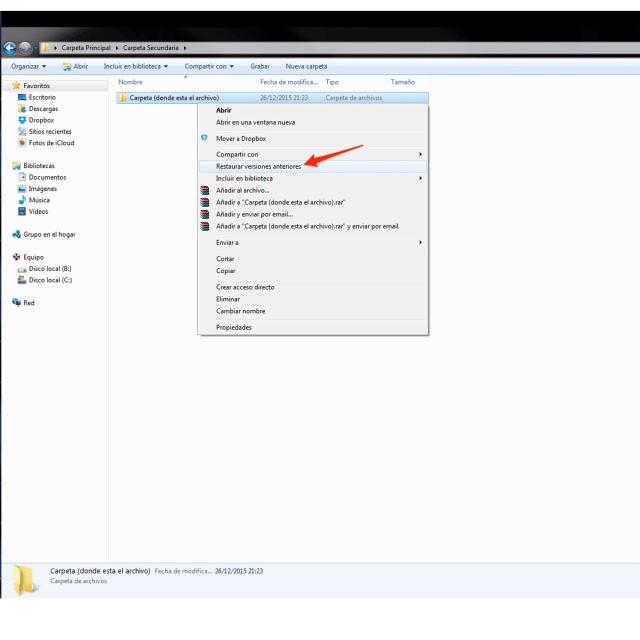 Recuperar archivos eliminados en windows recuperar