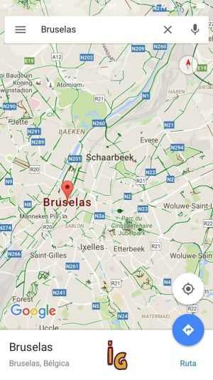 google maps sin conexion descarga
