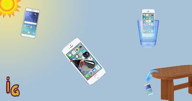 8 formas en ñas que dañas tu teléfono