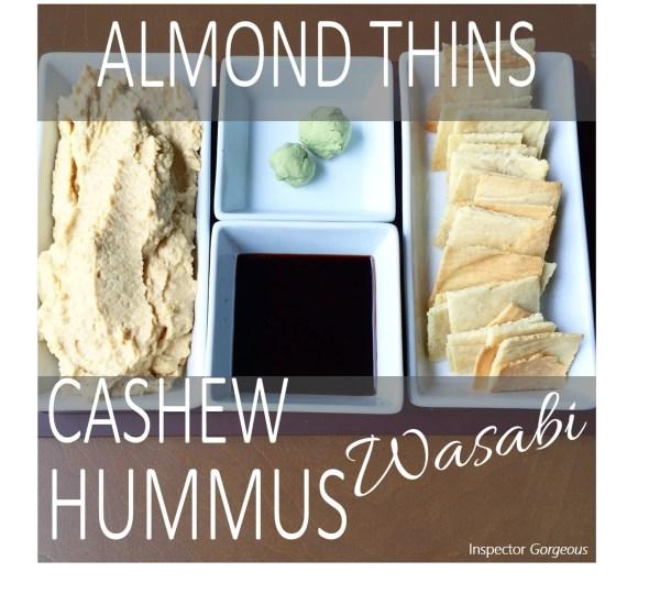 Almond Thins _ Hummus