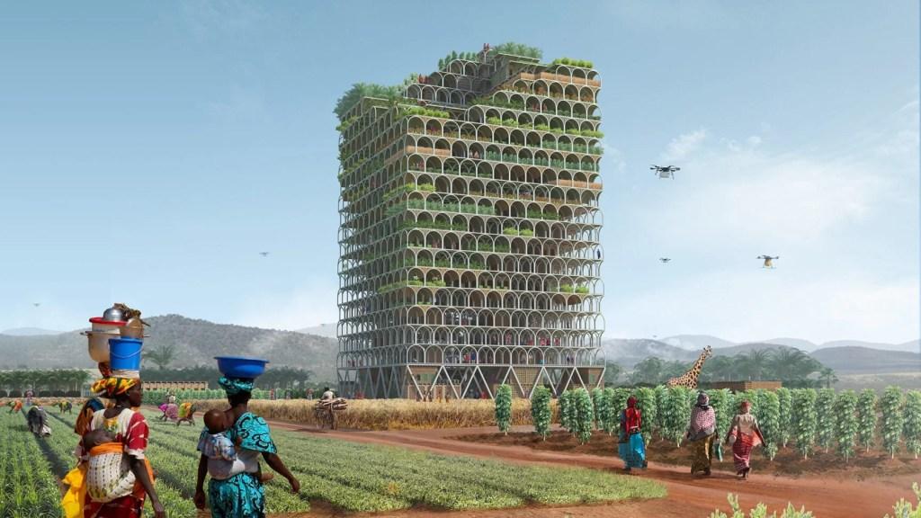 mashambas skyscraper -polski projekt wieżowca