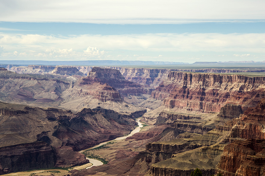Grans Canyon en de Colorado river