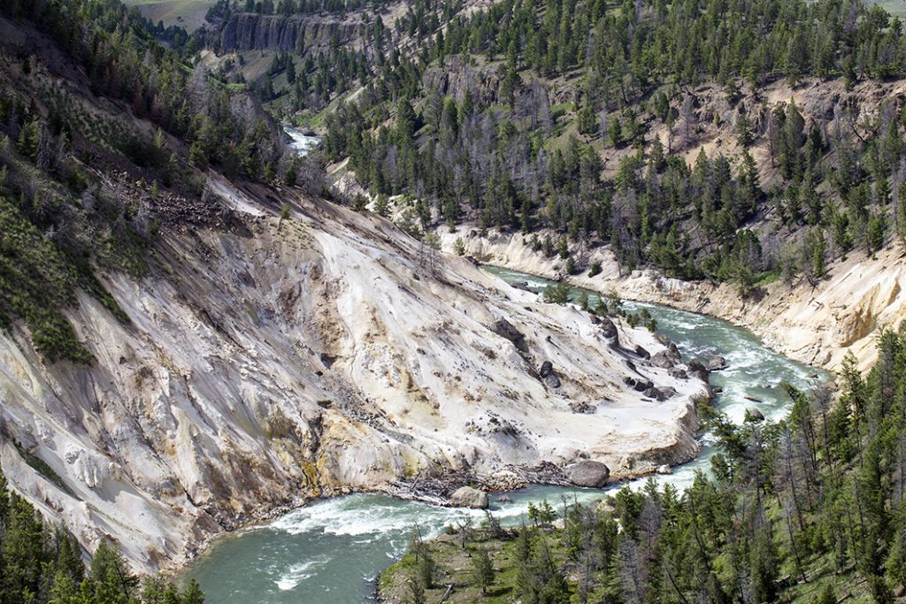Rivier in YEllowstone