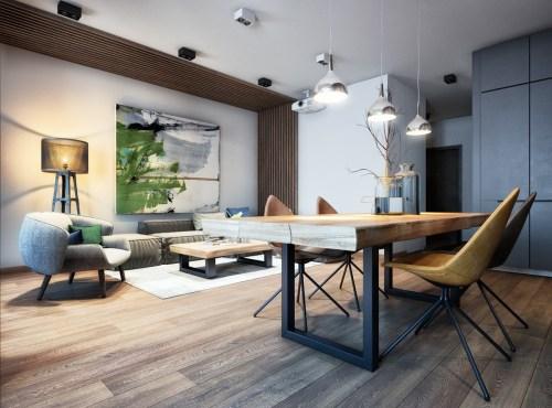 Modern living room House Styles