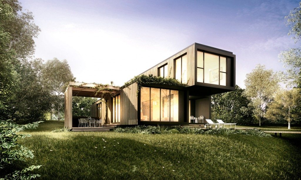 modern container house ideas