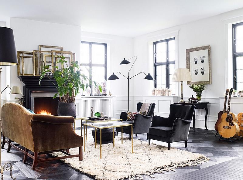 3 arm floor lamp modern style