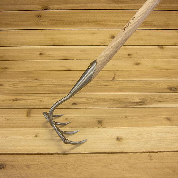 4-tine garden rake by sneeboer