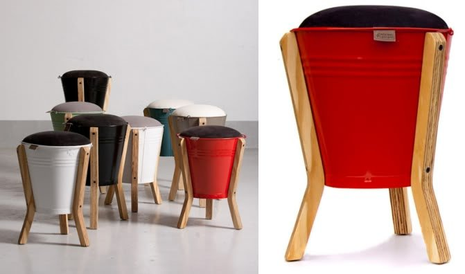 Recycled Materials Chairs Design Ideas