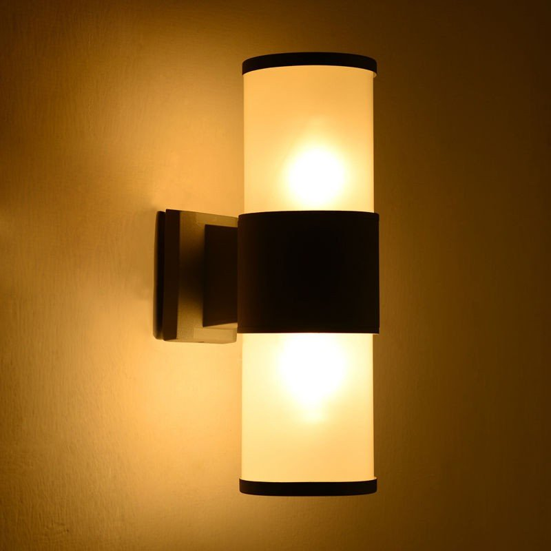 Twin Lamp Cylinder Style
