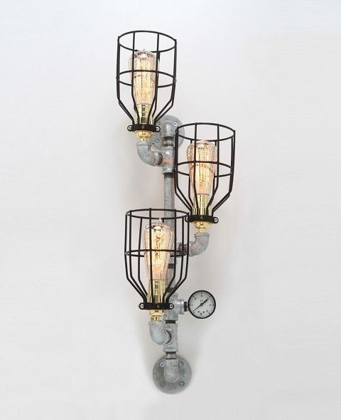 artistic design wall lamp idea