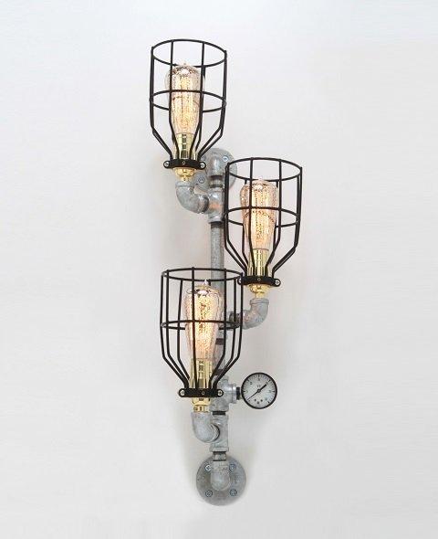 artistic design wall lamp idea