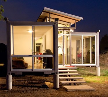comfortable container house