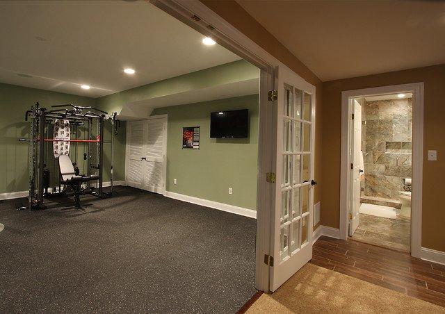 fitness area underground