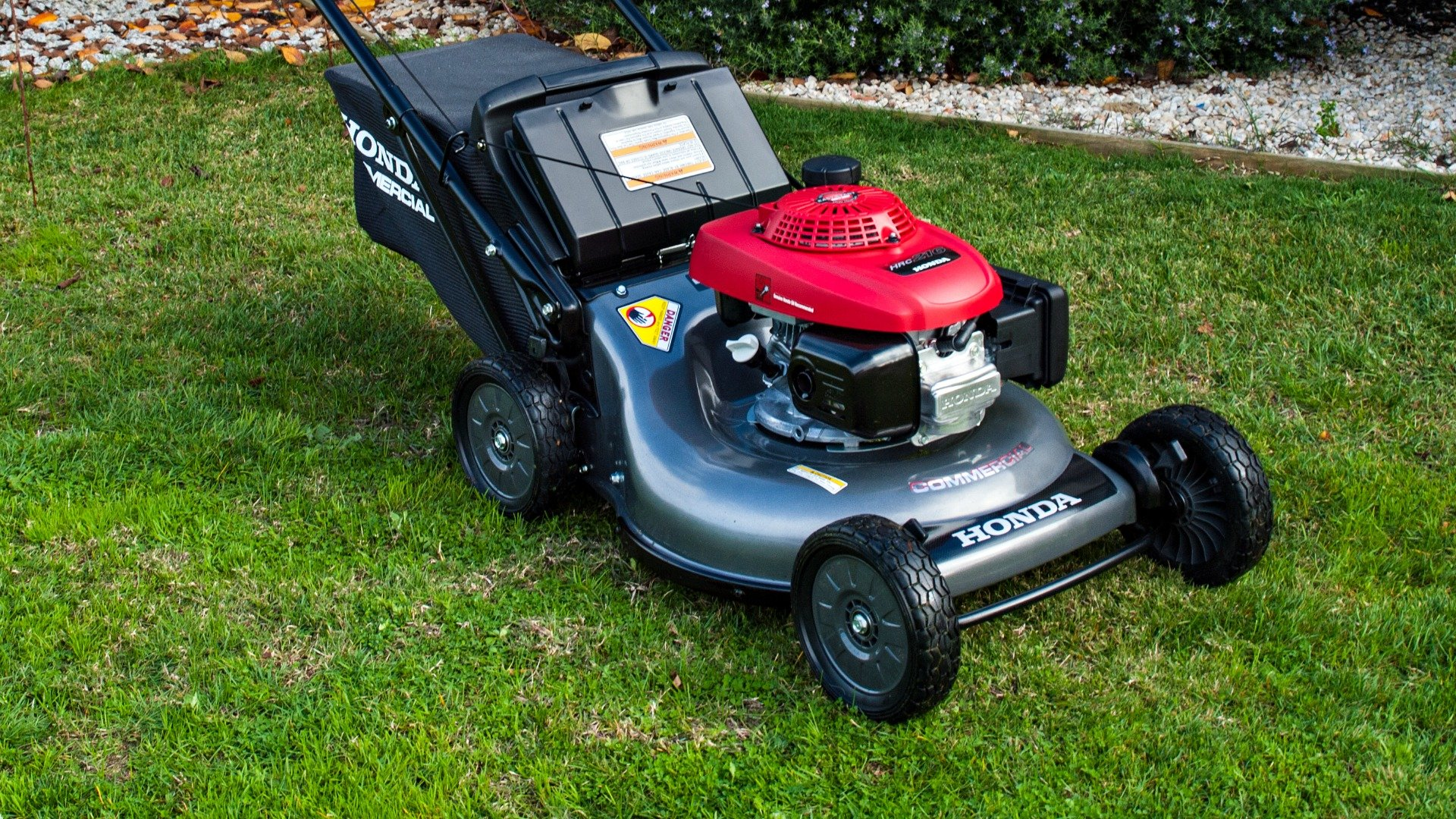 honda HRC lawnmower