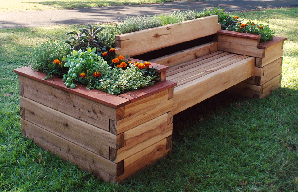 multifunction raised bed garden