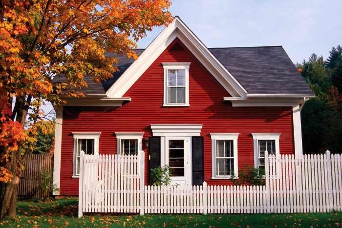 red house color